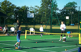 Coaching at Shinfield Tennis Club