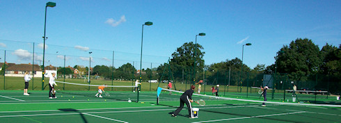 Shinfield Tennis Club courts